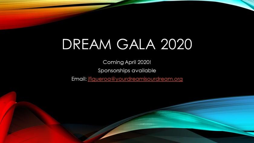 DREAM GALA 2020